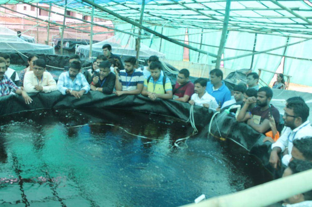 बायोफ्लॉक मछली पालन प्रशिक्षण