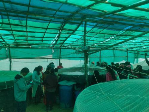Group Visited Biofloc Fish Farming Farm in Jaipur-1