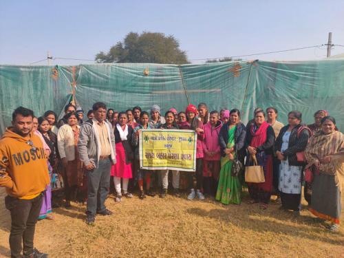 Group Visited Biofloc Fish Farming Farm in Jaipur-2