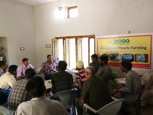 Pearl Farming Training in Rajasmand