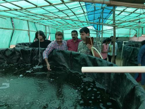 Biofloc Fish Farming Training 10-11 Aug 2019
